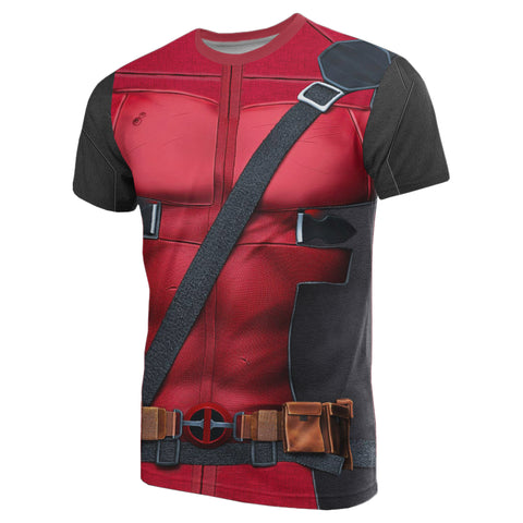 1stIceland T-Shirt, 3D Deadpool All Over Print TH79 - 1st Iceland