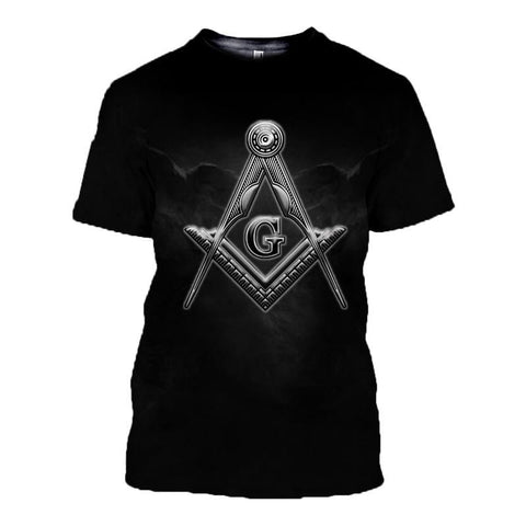 3D T-Shirt Freemasonry Ver.5 TH5 - 1st Iceland