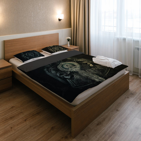 1stIceland Viking Bedding Set, Skull Sword K7 - 1st Iceland