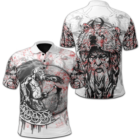 1stIceland Berserker Polo Shirt Tattoo TH12 - 1st Iceland