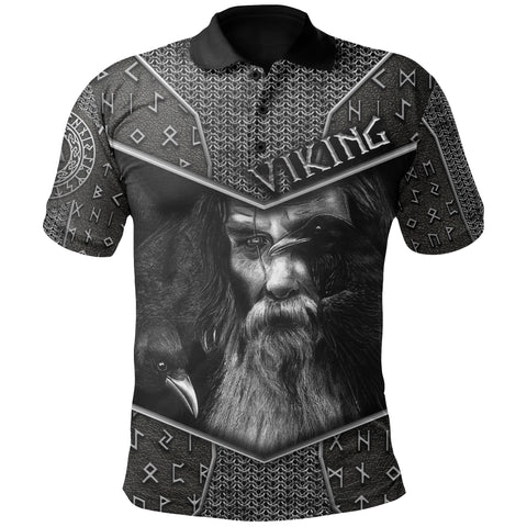 1stIceland Viking Polo Shirt Odin Armor  | 1sticeland.com