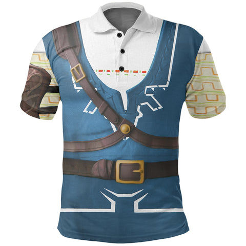 1stIceland Polo T-Shirt, 3D Link Costume All Over Print - 1st Iceland