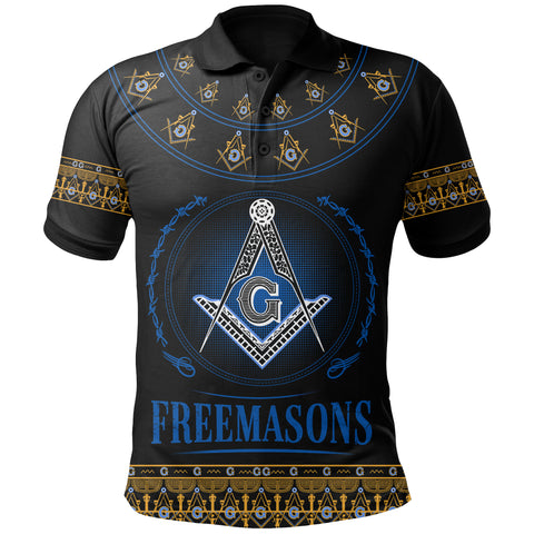 Image of 1stIceland Freemasonry Polo Shirt TH5 - 1st Iceland