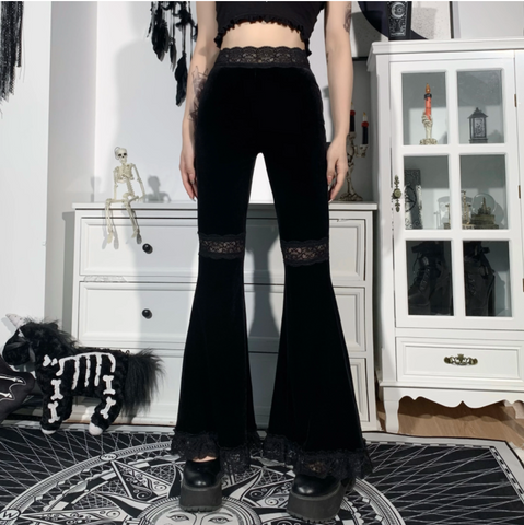 Vampire Black Pants TH19