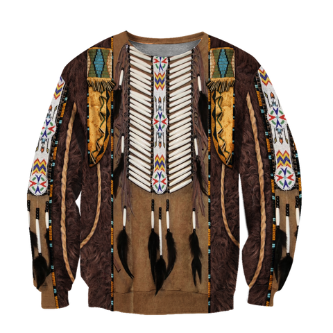 1st Iceland Premium Native American Culture 3D Sweatshirt TH12 - 1st Iceland
