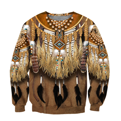 1st Iceland Premium Native American Culture Sweatshirt TH12 - 1st Iceland