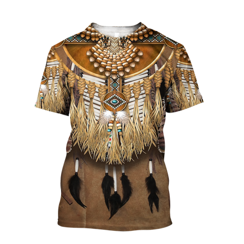 1st Iceland Premium Native American Culture T-Shirt TH12 - 1st Iceland
