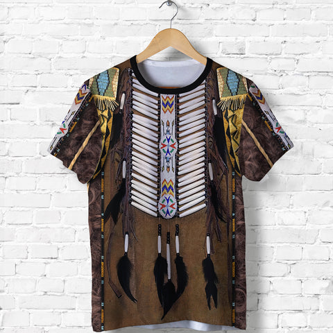 1st Iceland Premium Native American Culture 3D T-Shirt TH12