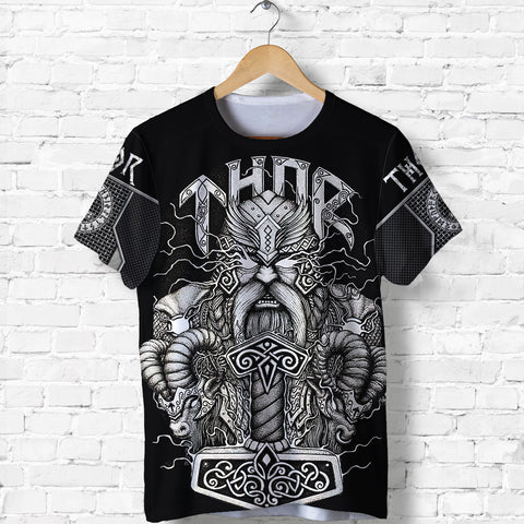 1stIceland Viking T-Shirt Thor Hammer Beautiful TH12 - 1st Iceland