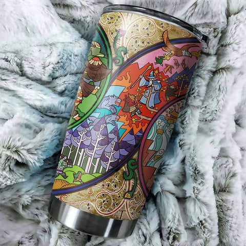 3D The Hobbit The Desolation Of Smaug Custom Design Vacuum Insulated Tumbler K6 - 1st Iceland
