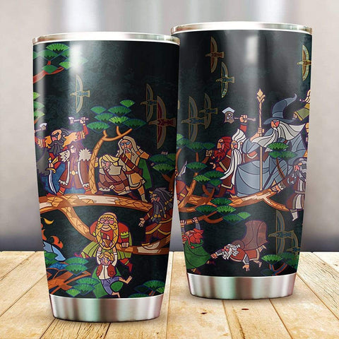 3D Lord Of The Rings Hobbit Adventure Custom Design Vacuum Insulated Tumbler K6 - 1st Iceland