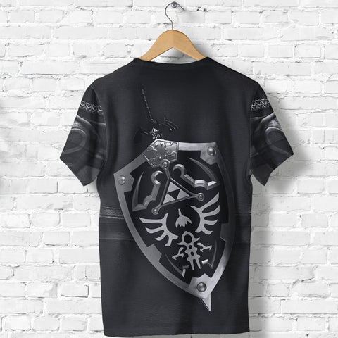 1stIceland T-Shirt, 3D Dark Link Costume All Over Print - 1st Iceland