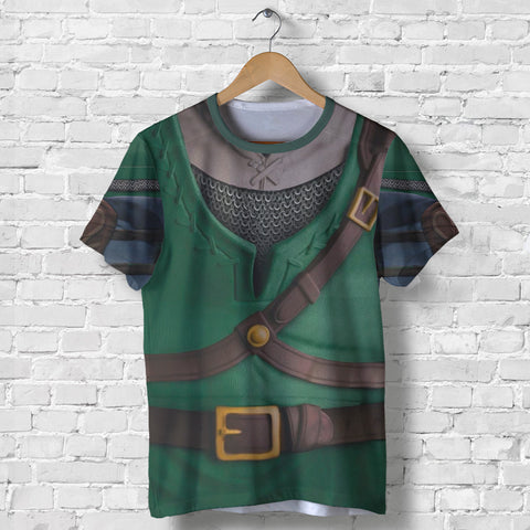 1stIceland T-Shirt, 3D Link Costume All Over Print - 1st Iceland