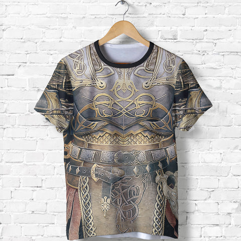 1stIceland T-Shirt, Kratos Armor All Over Print TH00 - 1st Iceland