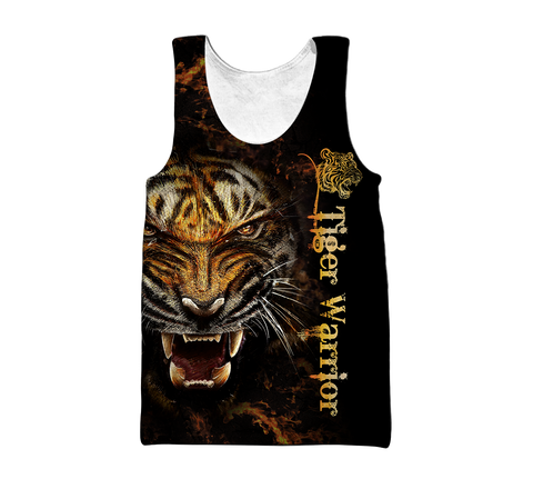 1stIceland Tiger Men's Tank Top Warrior TH12 - 1st Iceland