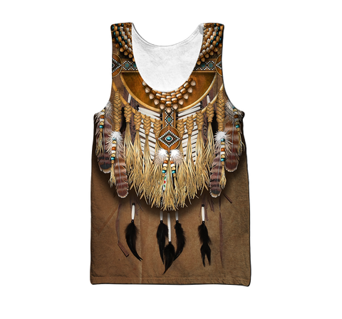 1st Iceland Premium Native American Culture Men's Tank Top TH12 - 1st Iceland