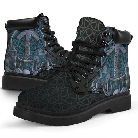 Image of 1stIceland Viking Boots, Tyr's Nordic Mythology K7 - 1st Iceland