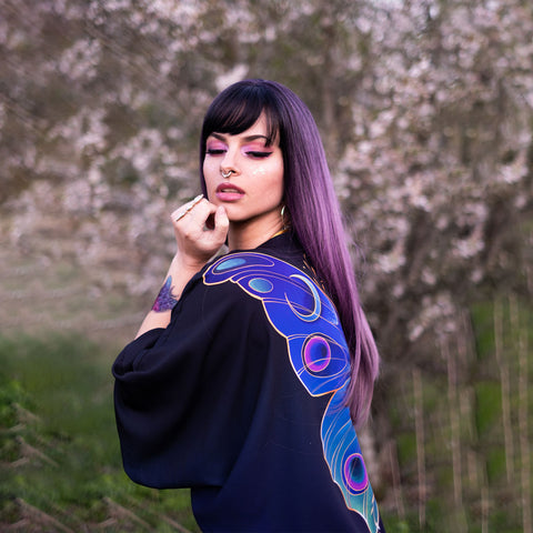 Image of Night Butterfly Kimono TH19