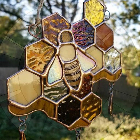 Mini Honeycomb Suncatcher TH7