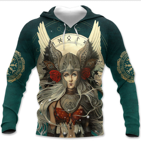 Image of 1stIceland Viking Pullover Hoodie, The Valkyrie K5 - 1st Iceland