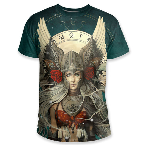 1stIceland Viking T Shirt, The Valkyrie K5 - 1st Iceland