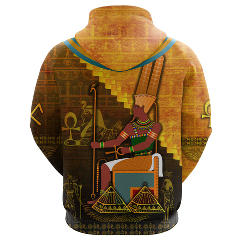 Image of 1stIceland Amun Hoodie Egyptian God K8 - 1st Iceland