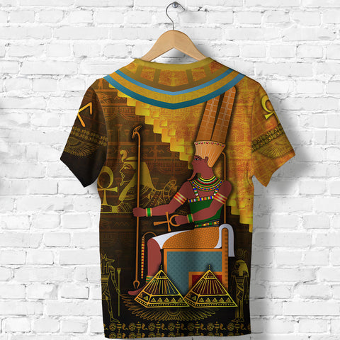 1stIceland Amun T Shirt Egyptian God K8 - 1st Iceland