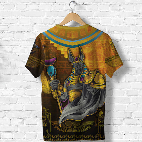 1stIceland Anubis T Shirt Egyptian God K8 - 1st Iceland