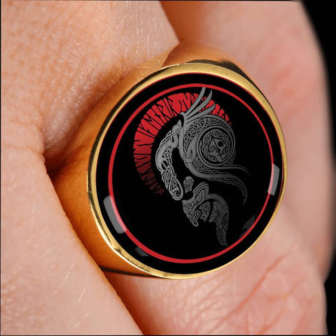 Image of 1stIceland Viking Ring, Odin Warrior A4 - 1st Iceland