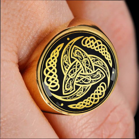 Image of 1stIceland Viking Ring, Triskele A6 - 1st Iceland