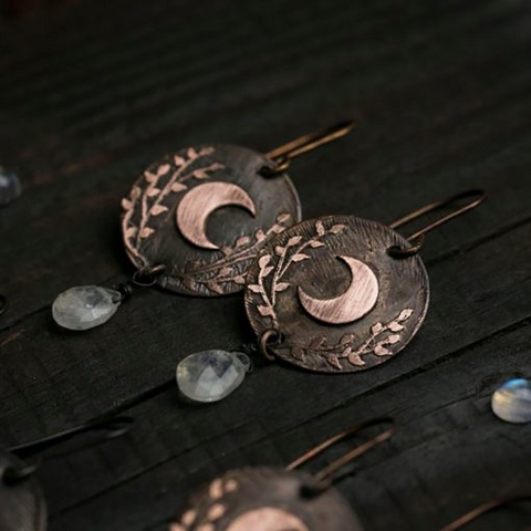 Crescent Moon Earrings - 1st Iceland