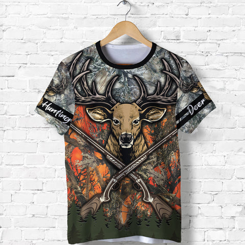 Image of 1stIceland Deer Hunting Camouflage Hoodie K4 - 1st Iceland