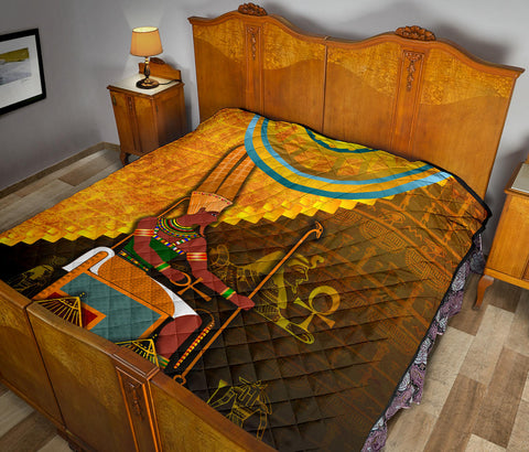 Image of 1stIceland Amun Premium Quilt Egyptian God K8 - 1st Iceland