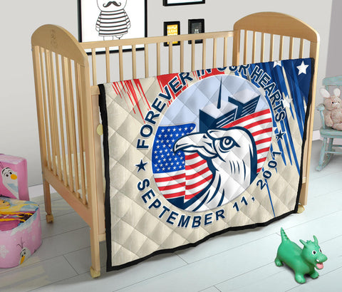 Image of 1stIceland American Firefighters Sacrifice 9.11.01 Premium Quilt K8 - 1st Iceland