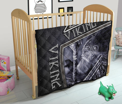 Image of 1st Iceland Viking God Metal Premium Quilt TH12 - 1st Iceland
