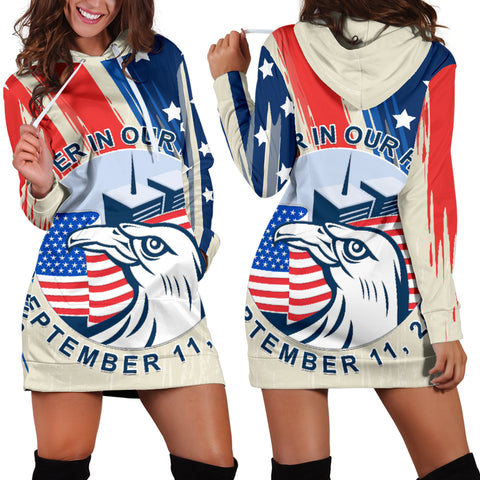 1stIceland American Firefighters Sacrifice 9.11.01 Women Hoodie Dress K8 - 1st Iceland