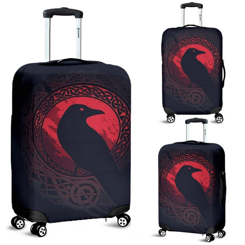 1stIceland Viking Luggage Cover, Odin's Eye Raven A2 - 1st Iceland