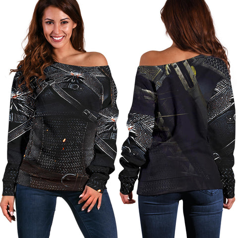 1stIceland Off Shoulder Sweater, 3D Witcher Armor TH00 - 1st Iceland