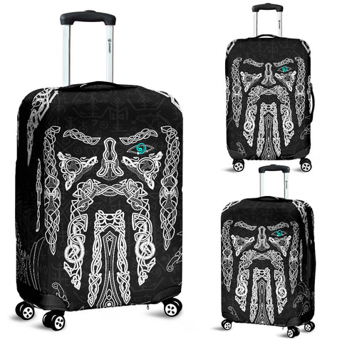 1stIceland Viking Luggage Covers, Odin's Eye with Raven