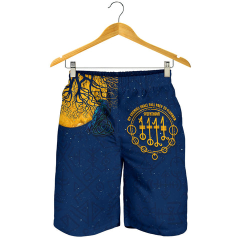 1stIceland Viking Svefnthorn Men Shorts, Raven The Moonlight K13 - 1st Iceland