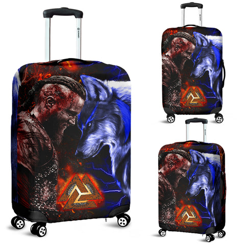 Image of 1stIceland Viking Luggage Covers Ragnar and Wolf | 1stIceland.com