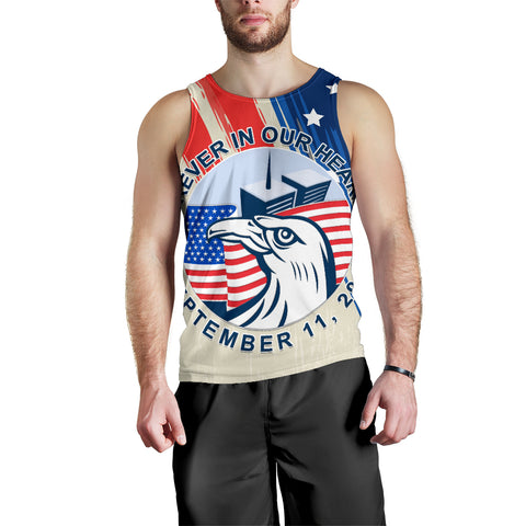1stIceland American Firefighters Sacrifice 9.11.01 Men Tank Top K8 - 1st Iceland