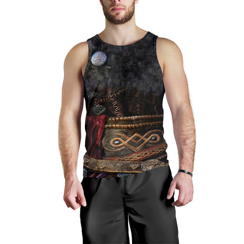 1stIceland Viking Armor Valhalla Men Tank Top K4 - 1st Iceland