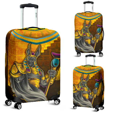 1stIceland Anubis Luggage Covers Egyptian God K8 - 1st Iceland