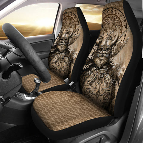 1stIceland Viking Car Seat Covers Classic Cat Version TH12 - 1st Iceland