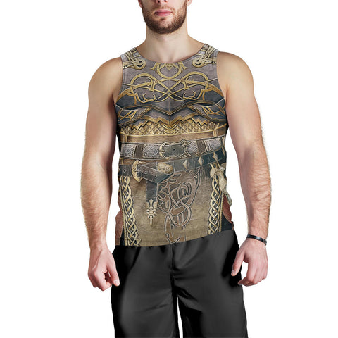 1sticeland Men Tank Top, Kratos Armor All Over Print TH00 - 1st Iceland