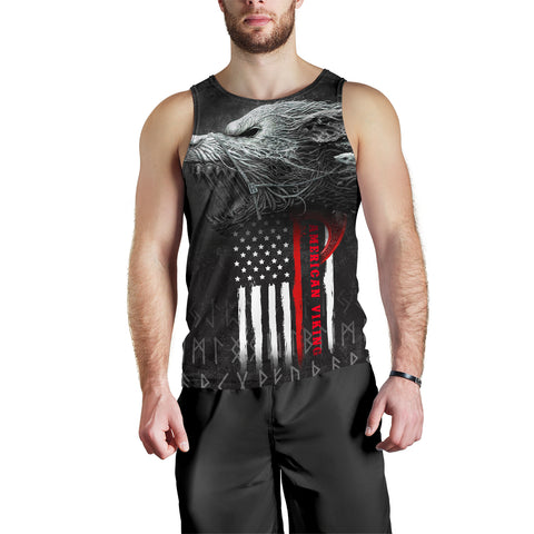 Image of 1stIceland American Viking Fenrir Men Tank Top TH12 - 1st Iceland
