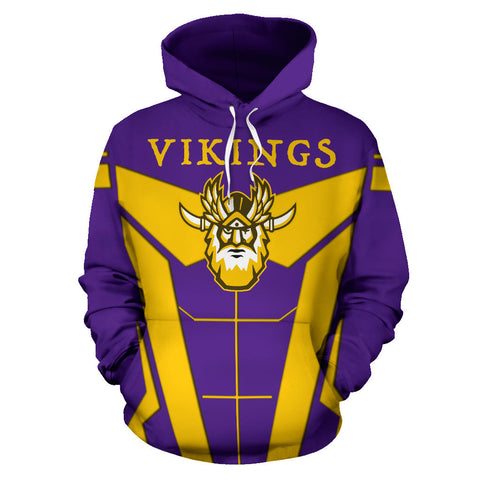1stIceland Viking Pullover Hoodie, Odin Warrior Web Of Wyrd TH0 - 1st Iceland