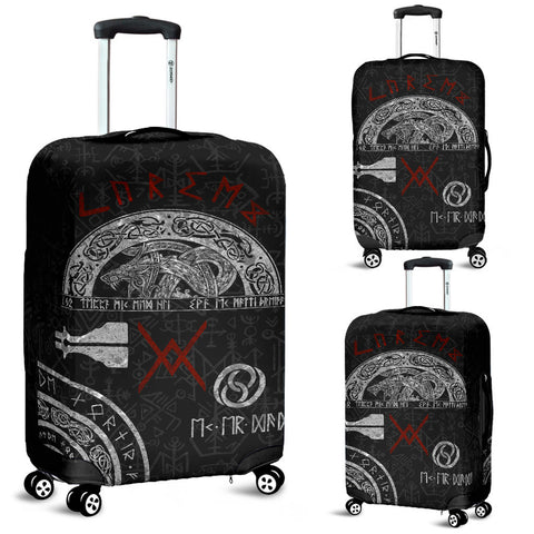 Image of 1stIceland Viking Luggage Cover, Baldur Norse Mythology Tattoo K4 - 1st Iceland