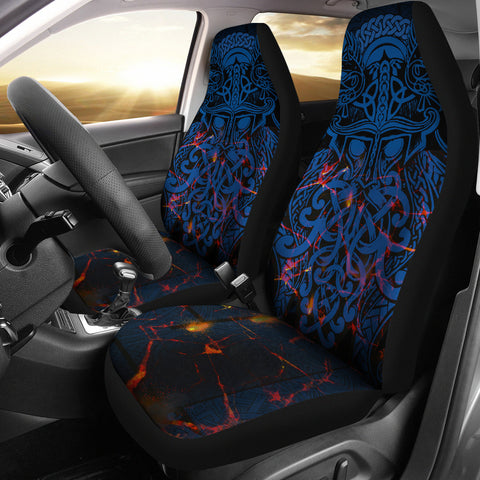 Vikings Car Seat Covers, Odin The All Father Th00 - 1st Iceland
